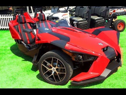 Polaris Slingshot 3 wheel car/motorcycle review