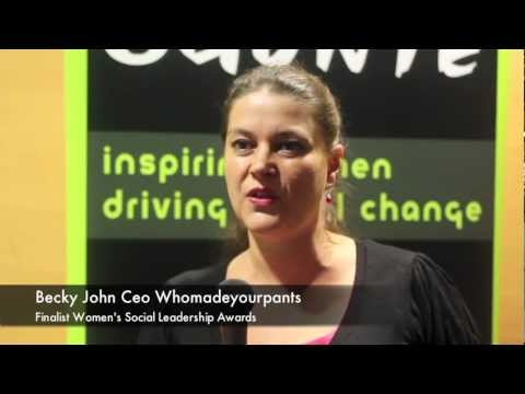 Why Enter the Women Social Leadership Awards 2012