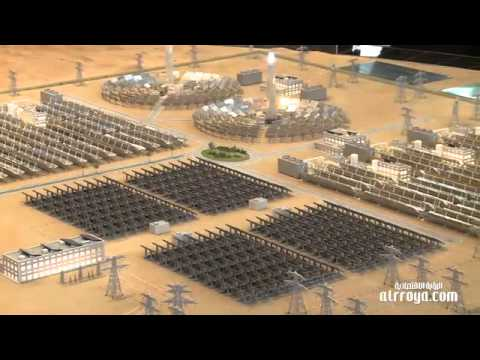 Dubai unveils solar energy project
