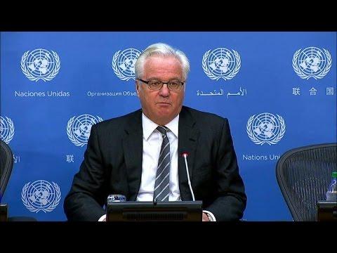 Ukraine, Russia trade barbs at UN over aid convoy