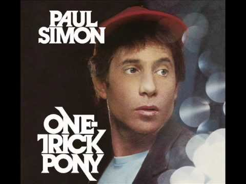 Paul Simon One Trick Pony One-trick Pony Track 1 Late