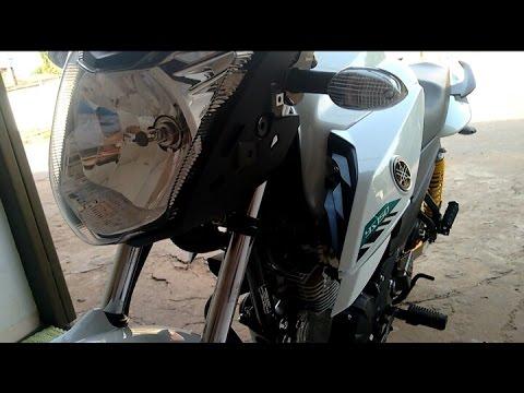 COMO COLOCAR O PISCA ALERTA NA MOTO 😜 - THALLES 96™