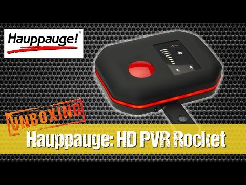 Hauppauge: HD PVR Rocket - Record Xbox One, PS4, Xbox 360, PS3 and PC