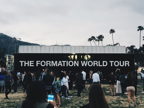 Aja Dang Vlog || Becoming Beyonce, LA Formation World Tour