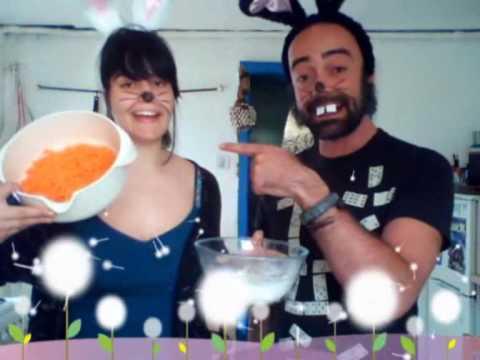 Receta tarta de zanahoria, increíblemete buena y explicada por conejos
