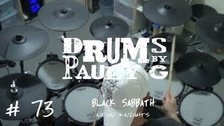 Black Sabbath - Neon Knights (Drum Cover) by Paul Gherlani