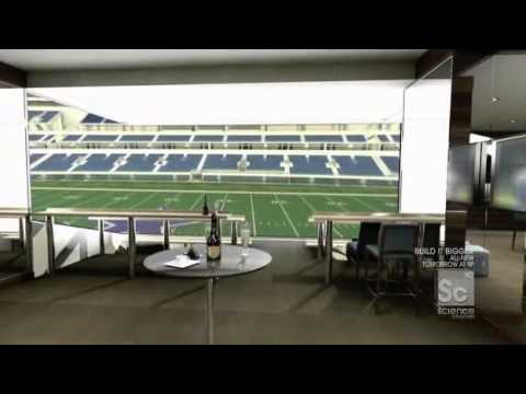 Build It Bigger S07E01 Dallas Cowboys Stadium