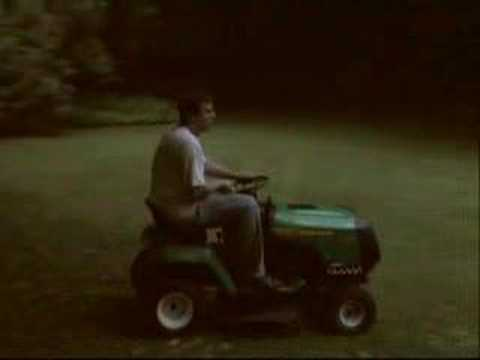 Weed Eater lawn tractor- 1st test drive after transaxle rebuild