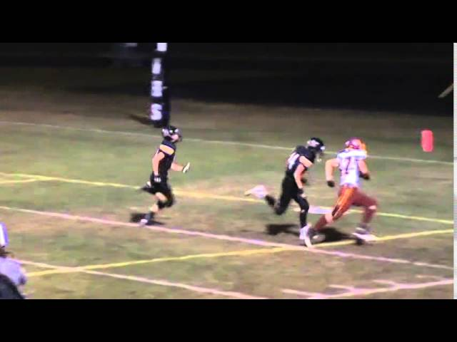 9-26-14 - 35 yard TD pass from Kyle Rosenbrock to Clay Shaver (Brush 48, Valley 6)
