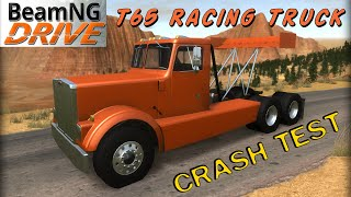 BeamNG DRIVE crash test mod T65 Racing Truck
