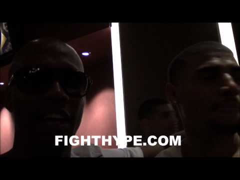 ZAB JUDAH SAYS FLOYD MAYWEATHER IS LOOKING TEN TIMES BETTER THAN WHEN THEY FOUGHT
