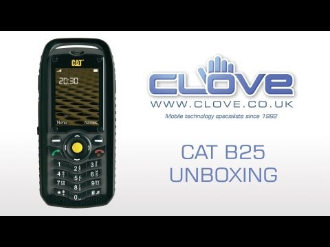 Cat B25 Tough Phone Unboxing