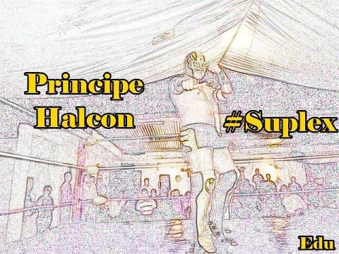 Principe Halcon Mandando Saludos a Lucha Libre Xalapeña