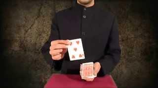 تعلم العاب الخفة # 282 ( حيلة بالورق تلعبها في عيد الميلاد ) free magic trick