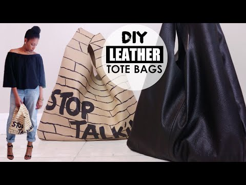 How To Turn Old Pants to a Tote Bag | DIY Upcycle | BlueprintDIY