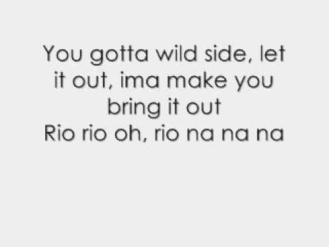 Justin Bieber Ft Ester Dean - Take U 2 Rio  Take You To Rio With Lyrics video
