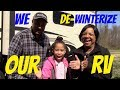 How to De-Winterize our **Grand Design** **Reflection 367BHS** RV