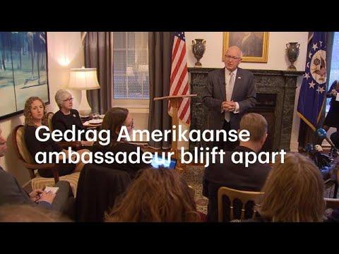 Zeer ongemakkelijke ontmoeting tussen ambassadeur en journalisten - RTL NIEUWS