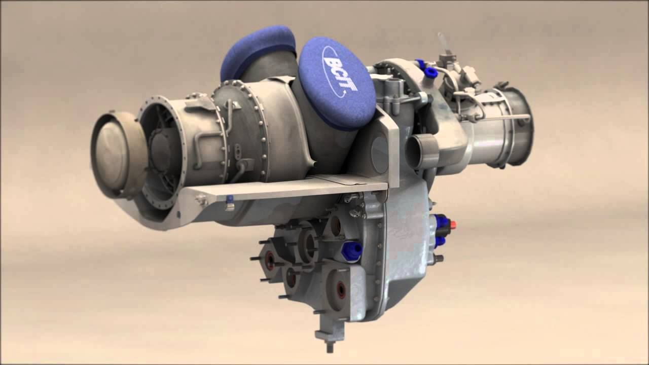 Rolls Royce Allison 250 Animation Youtube