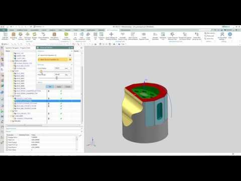 NX Powerpack Create Traversal between Operations
