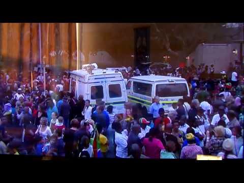 Nelson Mandela funeral ;mourners to line Pretoria street