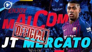 OFFICIEL : Malcom snobe l'AS Roma pour le Barça | Journal du Mercato