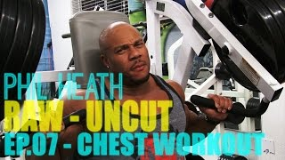 4x Mr. Olympia Phil Heath and Pro Bodybuilder Marc Lobliner CHEST TRAINING RAW AND UNEDITED