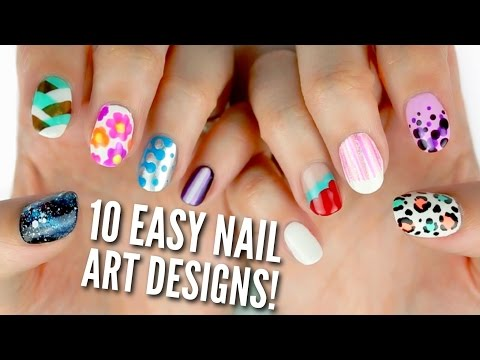 10 Easy Nail Art Designs for Beginners: The Ultimate Guide!