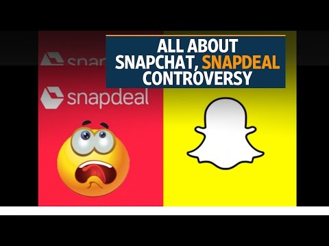 #BoycottSnapchat, but users uninstall Snapdeal app instead