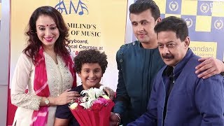 download lagu Sonu Nigam With Family  Wife Madhurima Nigam And gratis