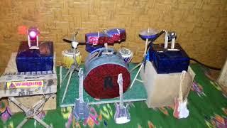 Miniatur panggung new pallapa by.mif