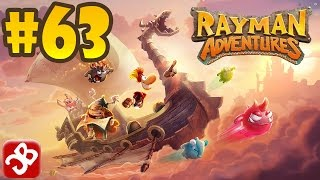 Rayman Adventures (Adventure 137-138) iOS / Android Gameplay Video - Part 63