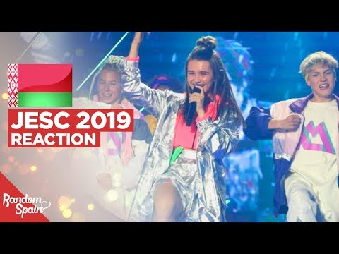 REACTION Liza Misnikova - Pepelny | Belarus Junior Eurovision 2019