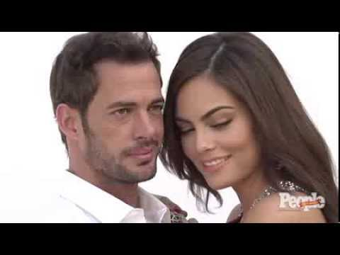 Detrás de cámaras con William Levy Ximena Navarrete para People en Español