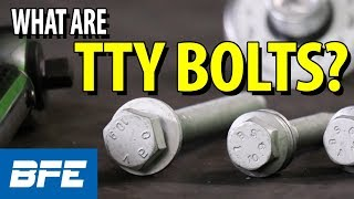 TTY Bolts For Suspension And Brake Components (Torque + Angle) | Tech Minute