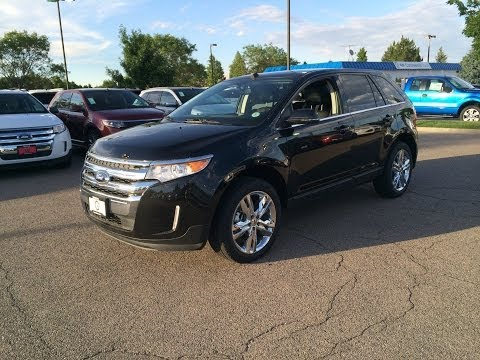 2014 Ford Edge Limited AWD (Start Up, In Depth Tour, and Review)