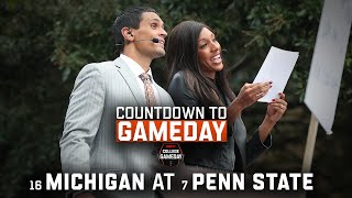 Countdown to GameDay: Week 8, Michigan at Penn State | ESPN College Football