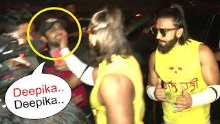 Ranveer Singh's SHOCKING Reaction To A FAN Teasing 'Deepika Deepika' In Public