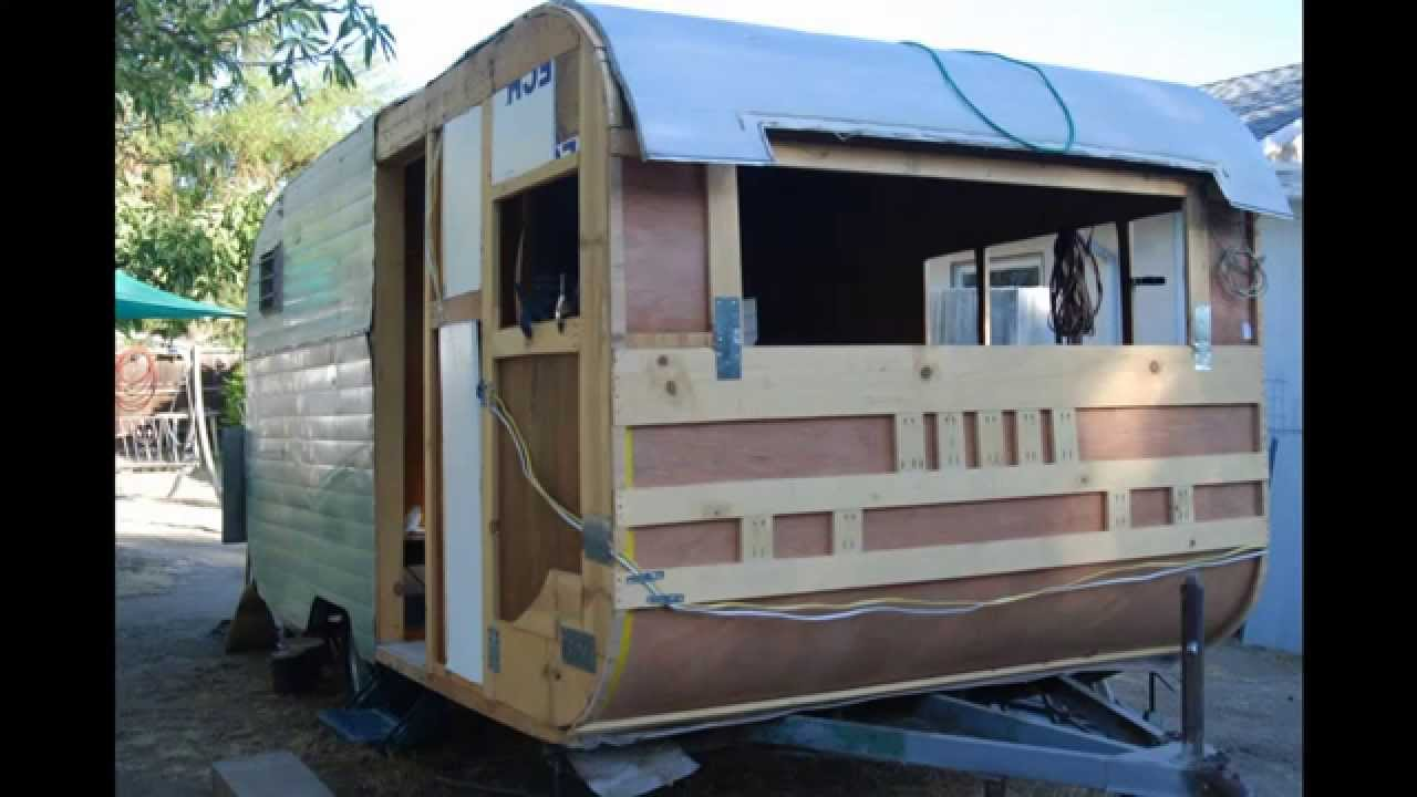 Santa Fe Travel Trailer Restoration Part 3 Youtube