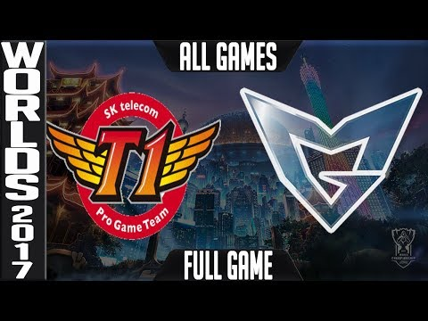 SKT vs SSG Grand-Final ALL GAMES FULL | World Championship 2017 | SK Telecom T1 vs Samsung Galaxy