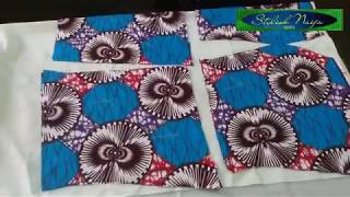 PAD A BUSTIER ANKARA  BLOUSE.....how to do it