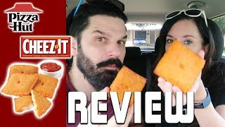Pizza Hut - Stuffed Cheez-It Pizza Food Review