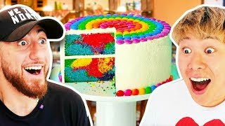 Who Can Make The PERFECT CAKE?! *TEAM ALBOE FOOD COOK OFF CHALLENGE*