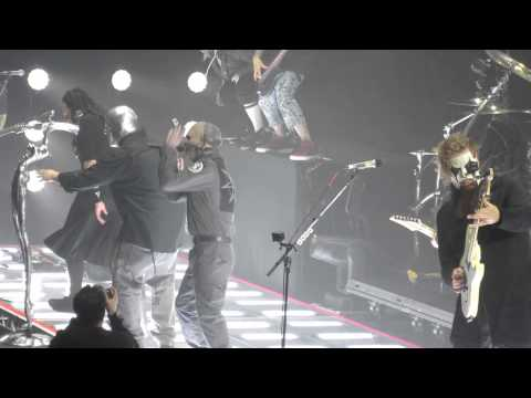 Korn and Slipknot performing Sabotage by The Beastie Boys at Wembley Arena 23/01/15