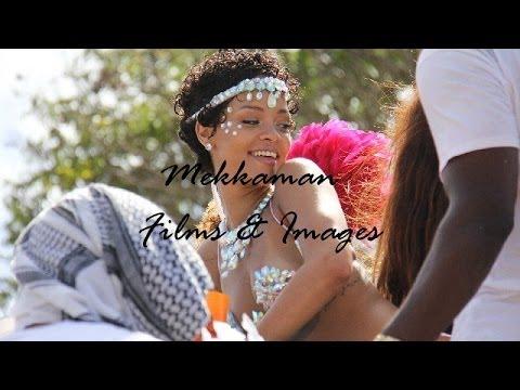 Rihanna Enjoying Barbados Carnival – Kadooment Day 2013