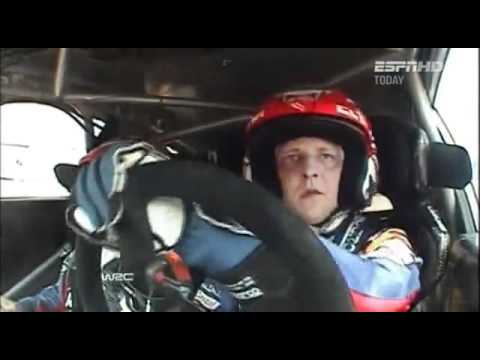 2011 WRC Greece day 2 Hirvonen save