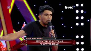 Hector Monki es una de las nuevas voces del humor