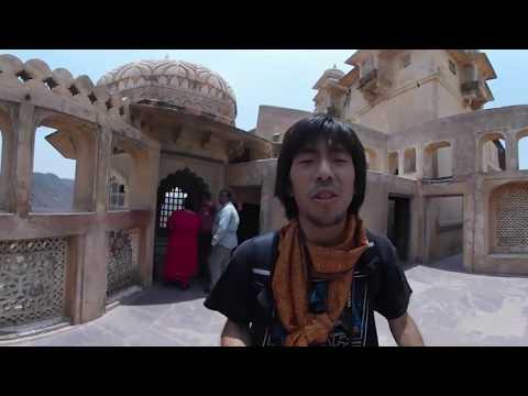 VR世界一周旅行 インド#11 【アンベール城 Amer Fort】 VR Feel Travel