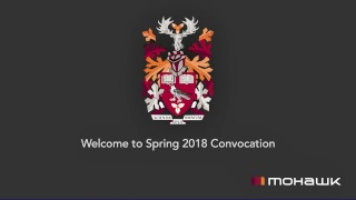 Mohawk Convocation 2018 - School of Health