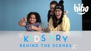 Behind the Scenes: American Kids Try | Kids Try | HiHo Kids